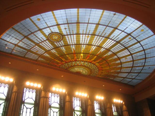 Buffalo City Hall ceiling