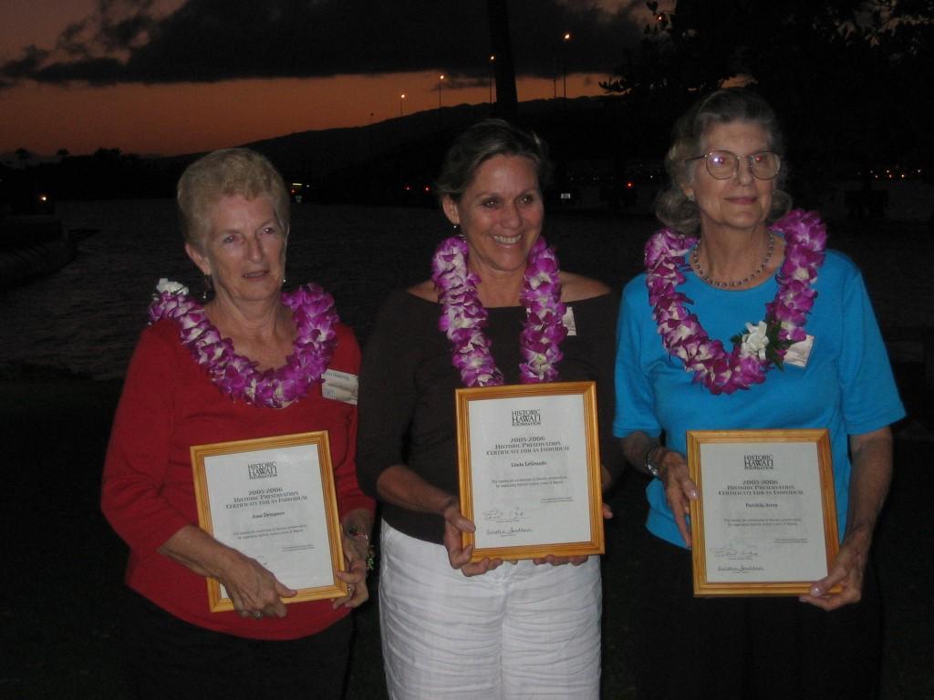 Historic Preservation Honor Award 2002-2003